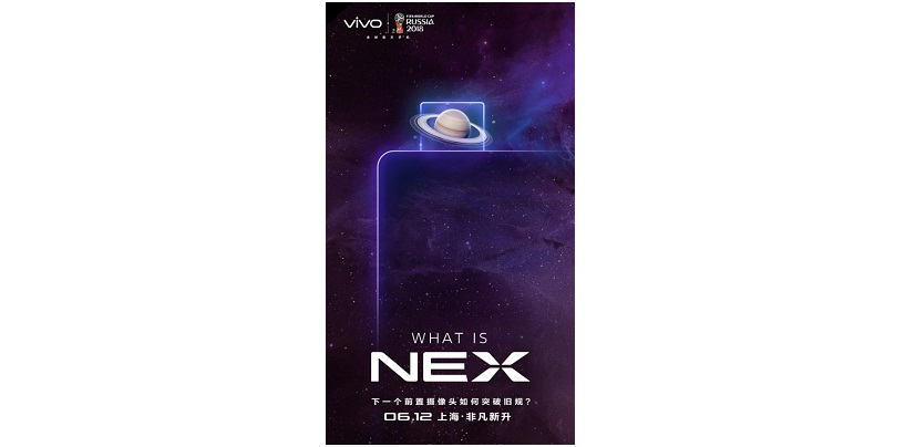 Vivo NEX Confirmed to Feature Pop-up Selfie Camera as Per New Teaser Poster