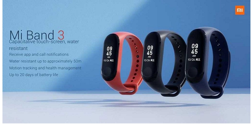 Xiaomi Launched Mi Band For $26