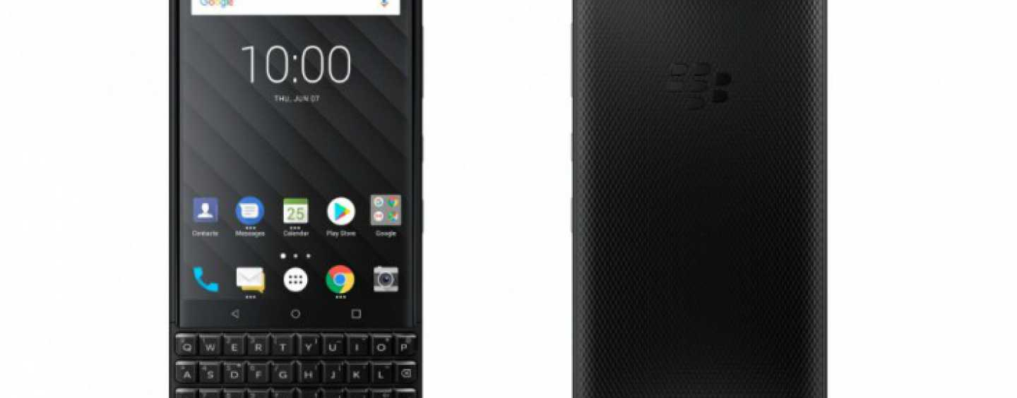 BlackBerry KEY2 With QWERTY Keyboard Launched For Rs. 42,990