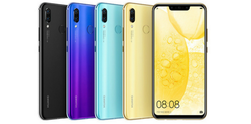 Huawei Nova 3 and Nova 3i Launched in China along with TalkBand B5 and 360-degree Camera