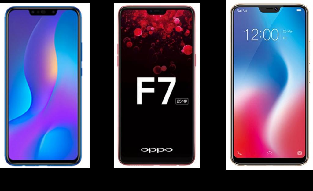 Huawei-Nova-3i-vs-Oppo-F7-vs-Vivo-V9