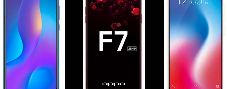 Huawei Nova 3i vs Oppo F7 vs Vivo V9: Price, Software and Hardware Configurations Compared