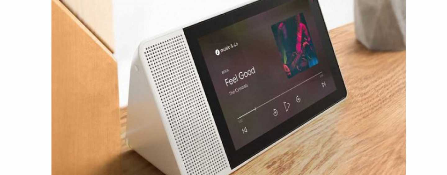 Google And Lenovo Launch First Smart Display Powered By Google Assistant