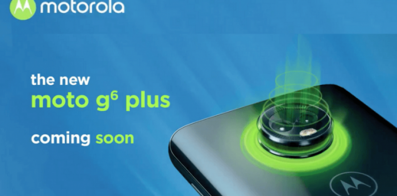 Moto G6 Plus Set For India Launch