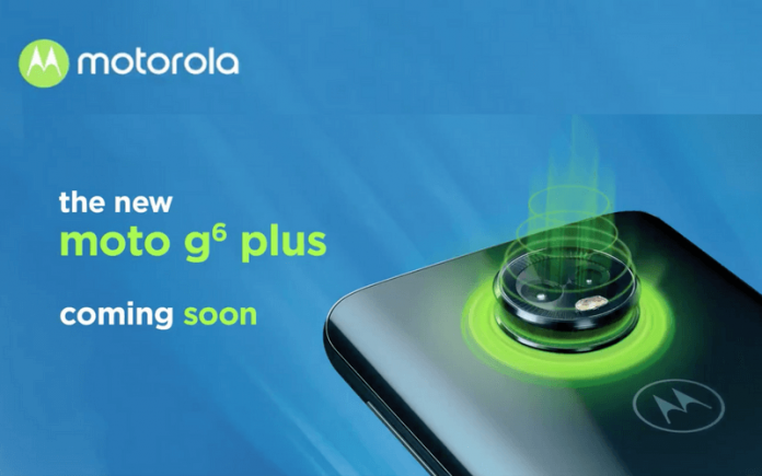 Moto G6 Plus to soon launch in India, hints Motorola