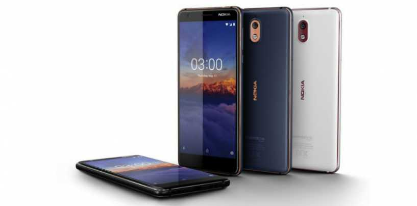 Nokia 3.1, An Android One Phone With 18:9 Display, Launched in India