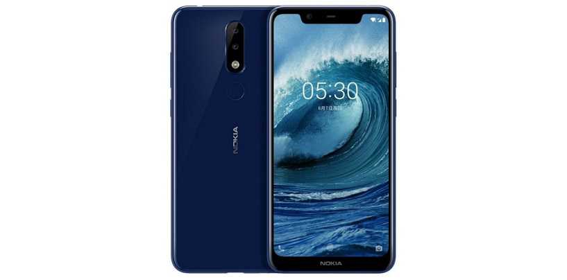 Nokia X5 with 5.86-inch Notched Display and Dual Rear Cameras Launched