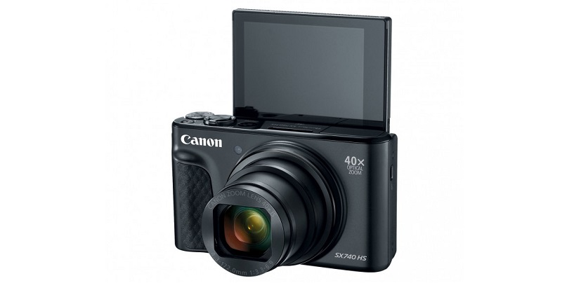 Canon PowerShot SX740 HS Compact Camera Announced