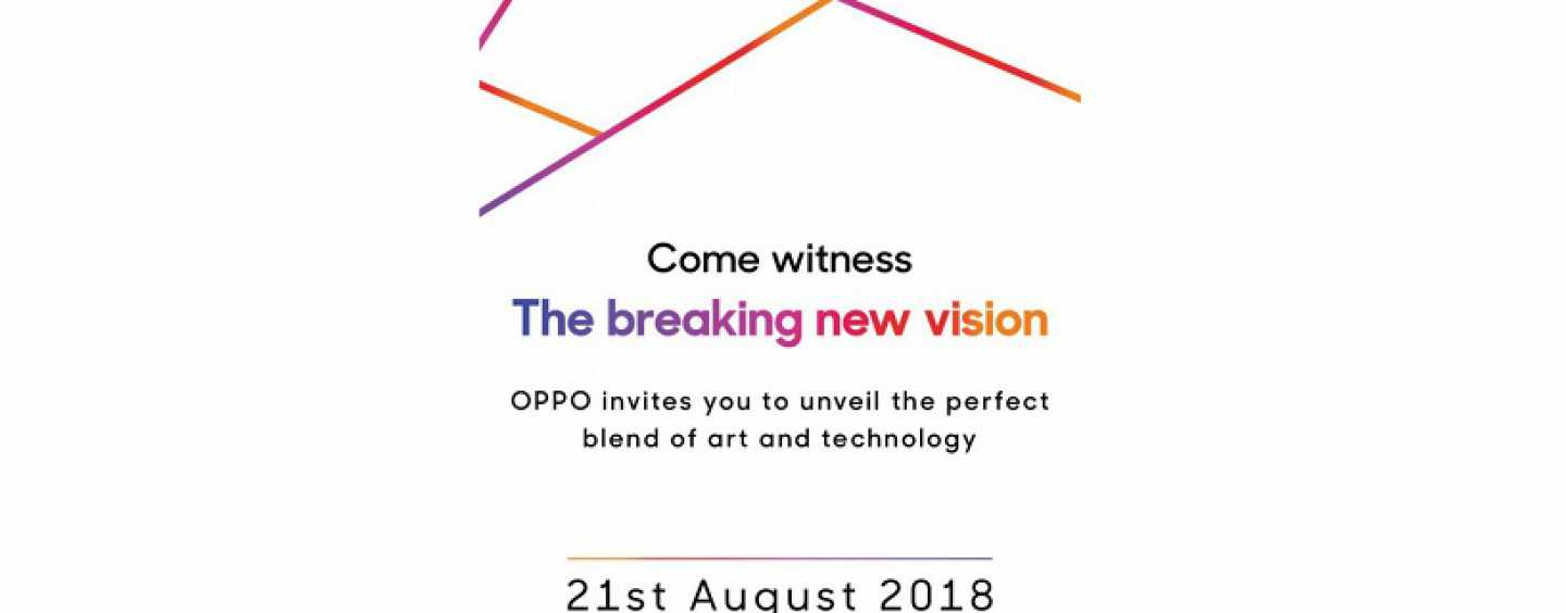 Oppo F9 Pro Set to Launch in India on 21 August: Media Invites Rolled Out