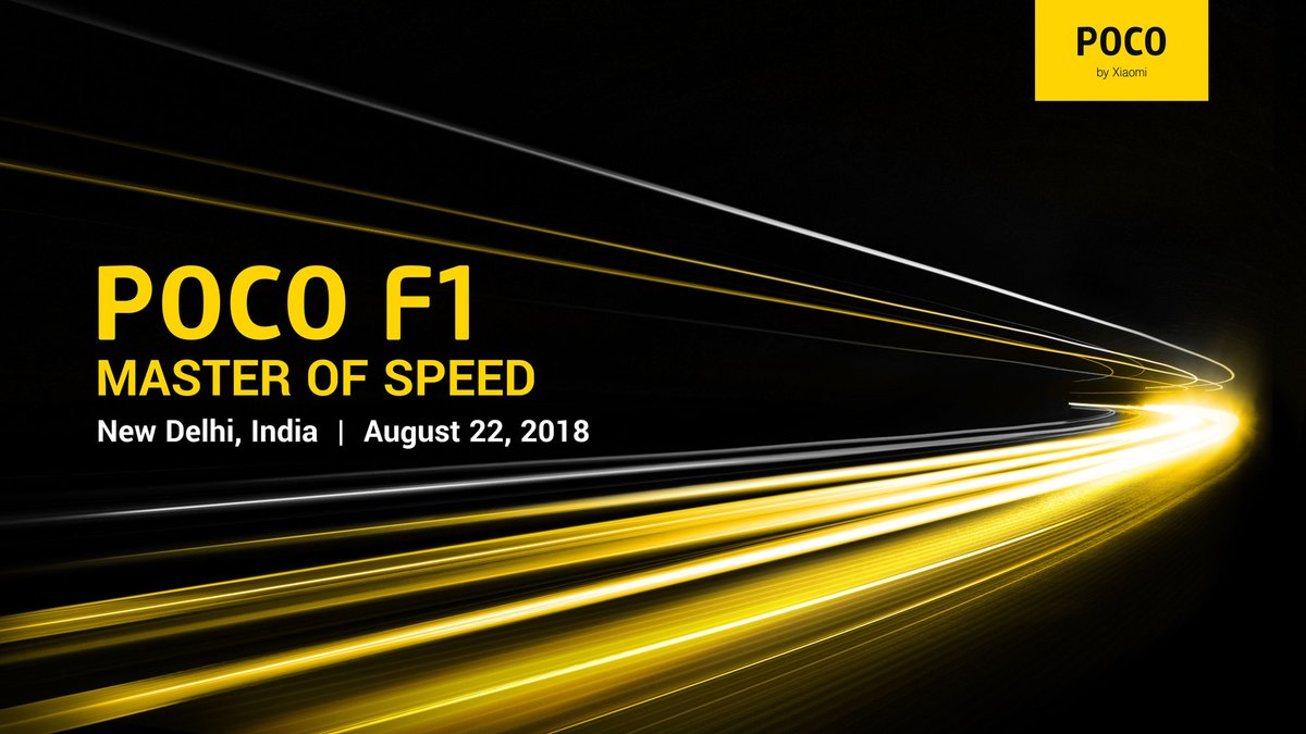 Xiaomi Set to Launch Poco F1 Smartphone in India on August 22