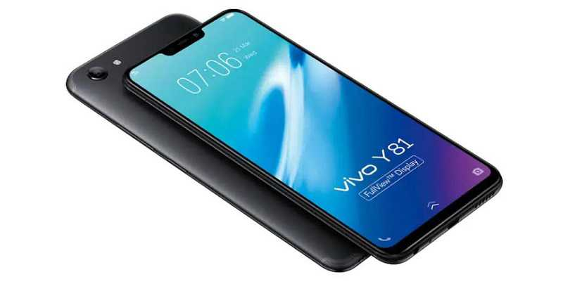 Vivo Y81 with a 6.22-inch FullView Display Launched in India at Rs 12,990