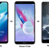 Vivo Y81 vs Honor 9 Lite vs Nokia 5.1: Price, Software and Hardware Configuration Compared
