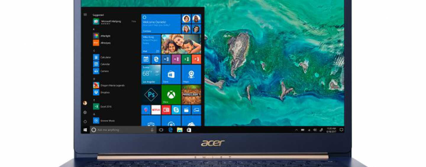 Acer Swift 5 Notebook Launched Starting $1099