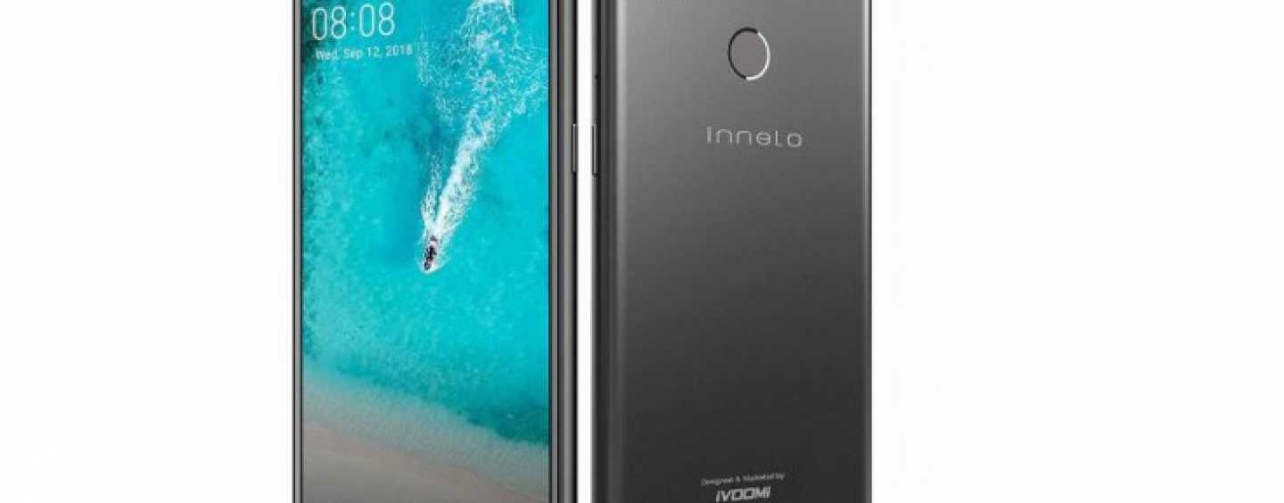 iVoomi Innelo 1 Smartphone with Notched Display Launched in India at Rs. 7,499