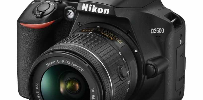 Nikon D3500 DSLR With 24.2-Megapixel CMOS Sensor Launched