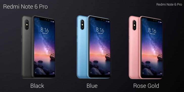 Xiaomi Redmi Note 6 Pro with Dual Selfie Camera Launched in Thailand
