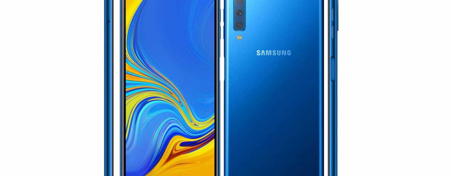 Samsung Galaxy A7 with Triple Rear Camera Set-up and Infinity Display Unveiled