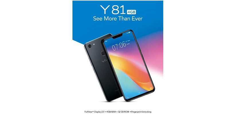 Vivo Y81 4GB RAM Variant Reportedly Launched in India at Rs. 13,490