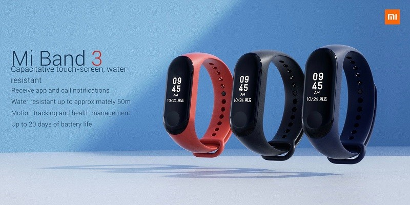 Xiaomi Mi Band 3 India launch expected on September 27