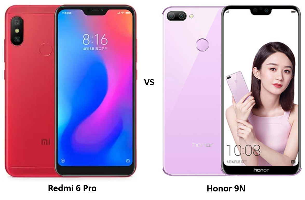 Xiaomi Redmi 6 Pro vs Honor 9N: Price, Features and Specifications Compared