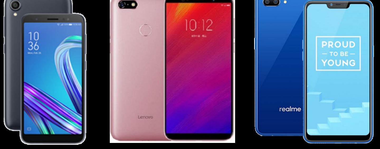 Asus Zenfone Lite L1 vs Lenovo A5 vs Realme C1: Price, Software and Hardware Compared