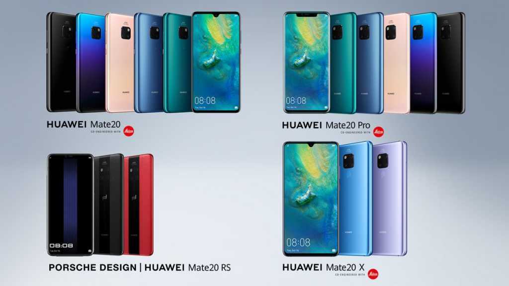 Huawei Mate 20 Series Launched