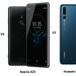 LG V40 Thinq vs Sony Xperia XZ3 vs Huawei P20 Pro: Price, Software and Hardware Specifications Compared