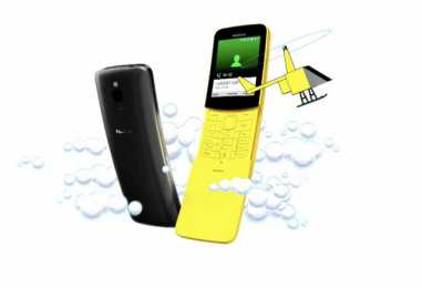 Nokia 8110 4G Feature Phone Launched For Rs 5,999