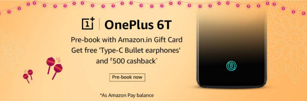 Oneplus 6T pre-orders