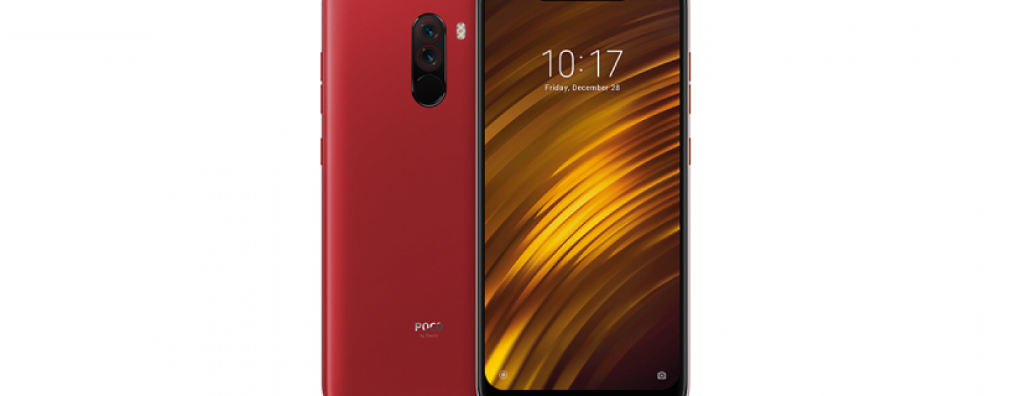 Poco F1 Gets New Rosso Red Colour Variant in India: To Go on Sale from October 11