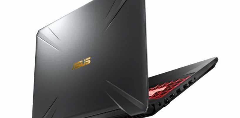 Asus TUF FX505, TUF FX705 gaming laptop Launched In India
