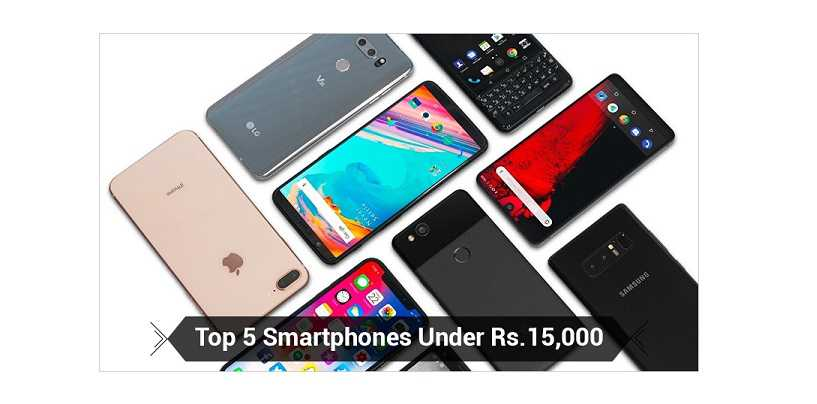 Top 5 smartphones you should buy under 15000inr