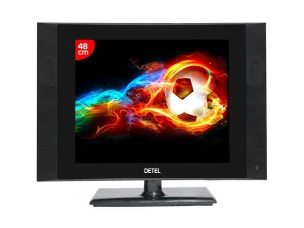 Detel D1, the World's Most Economical LCD TV, Launched In India at Rs. 3,999