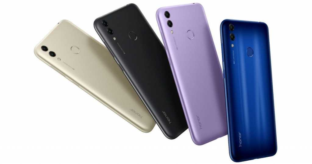 Honor 8C Colour Options