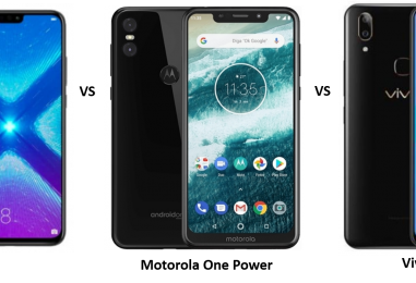 Honor 8X vs Motorola One Power vs Vivo V9 Pro: Price, Features and Specifications Compared