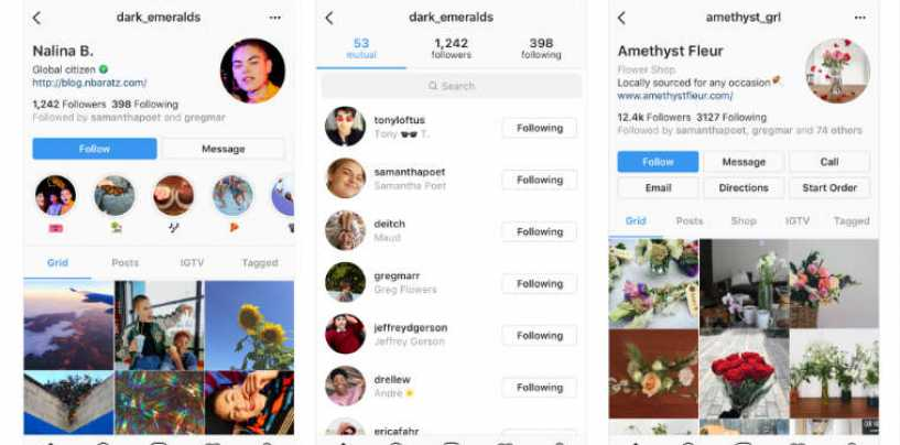 Instagram's New Design To Focus On User Profile, Not Follower Count