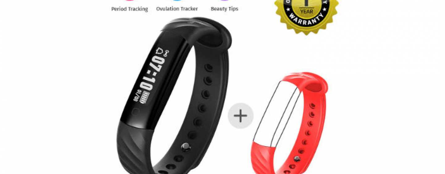 "Mevofit Launches Mevofit Slim & Mevofit Slim + HR – The ""Women's only"" Fitness Trackers"