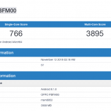 Oppo A7 with 4GB RAM and Snapdragon 450 Spotted on Geekbench