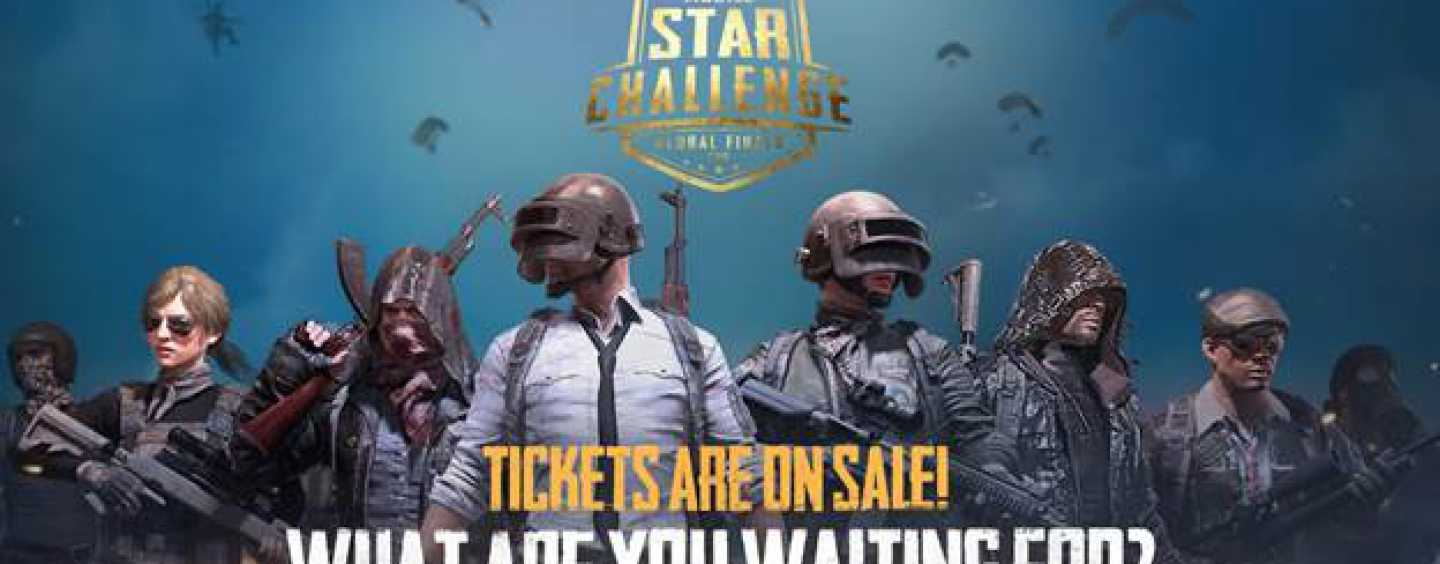 PUBG MOBILE STAR CHALLENGE (PMSC) Global Finals Will Take Place In Dubai From November 29- December 1