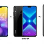 Realme U1 vs Honor 8X vs Xiaomi Redmi Note 6 Pro: Price, Features and Specifications Compared