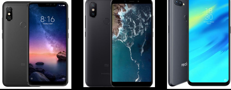 Redmi Note 6 Pro vs Xiaomi Mi A2 vs Realme 2 Pro: Detailed Feature Comparison