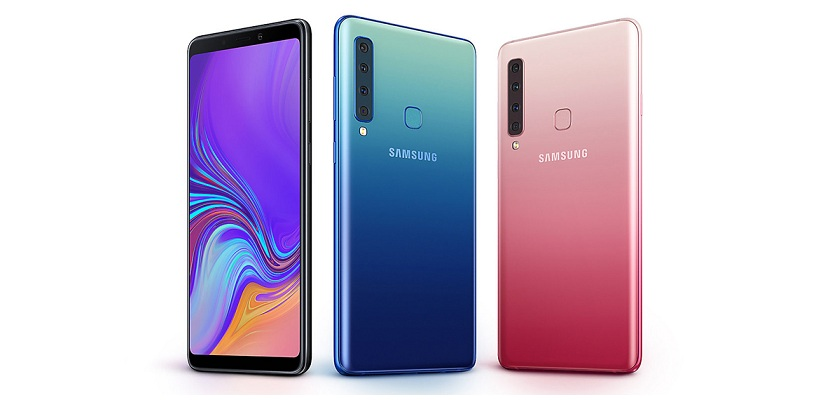 Samsung Galaxy A9 (2018) with Quad Rear Camera Set up Launched in India