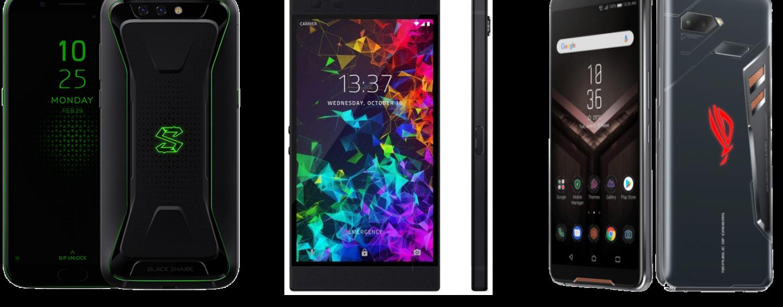 Xiaomi Black Shark vs Razer Phone 2 vs Asus ROG Phone: The Battle of Gaming Smartphones