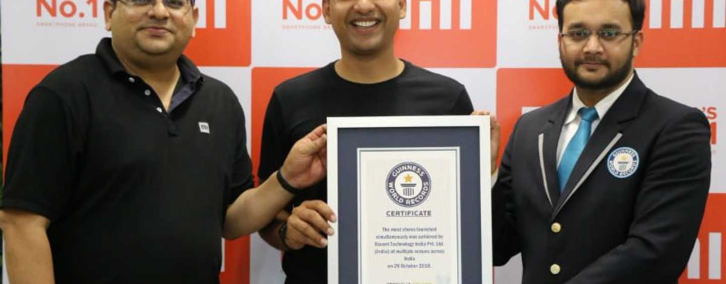 Xiaomi Creates Guinness Record By Opening 500 Retail Stores In One Day In Rural India