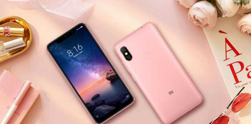Xiaomi Redmi 6 Pro Rose Gold Colour Variant Reported to Launch in India Soon
