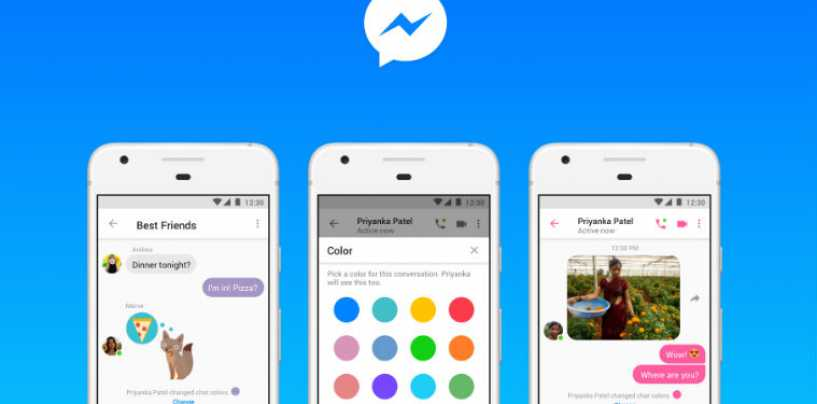 Facebook Messenger Lite Adds Chat Colour Customisation, GIF Support Feature