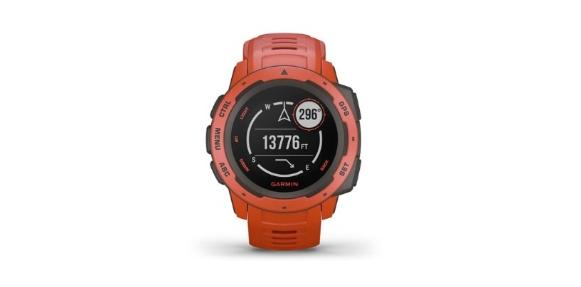 Garmin Instinct, A Rugged GPS-Enabled Smartwatch, Launched In India At Rs. 26,990