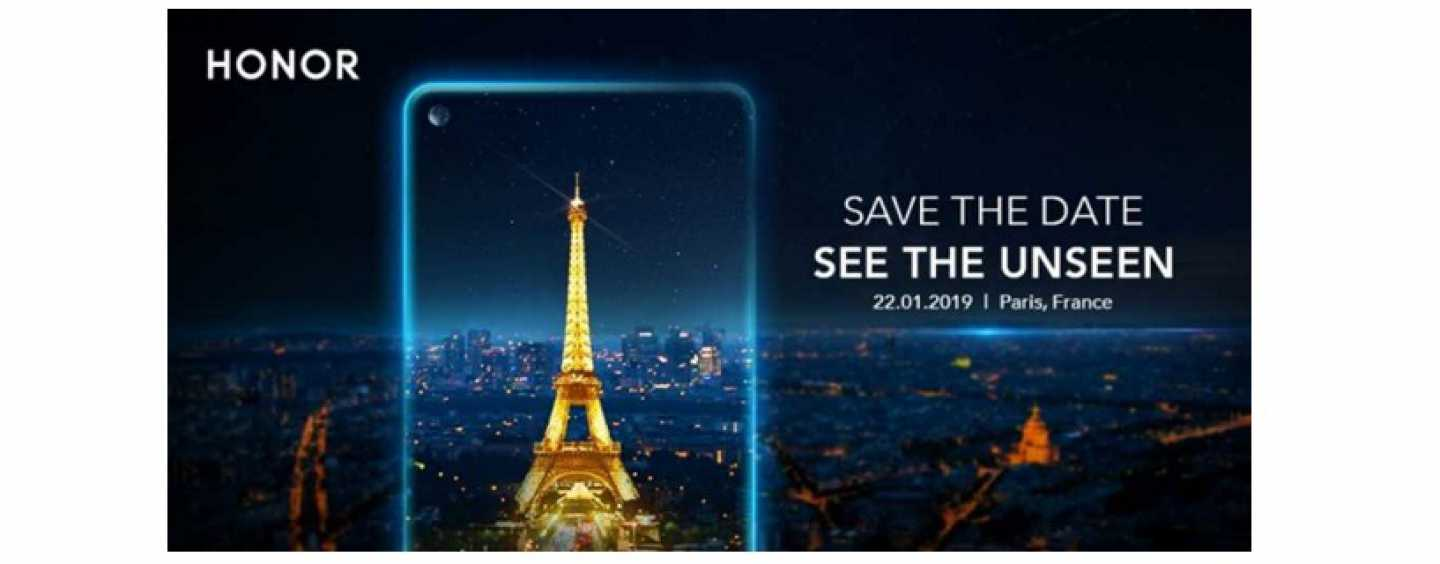 Honor to Launch Smartphone with In-screen Selfie Camera on January 22: Could be Honor View 20