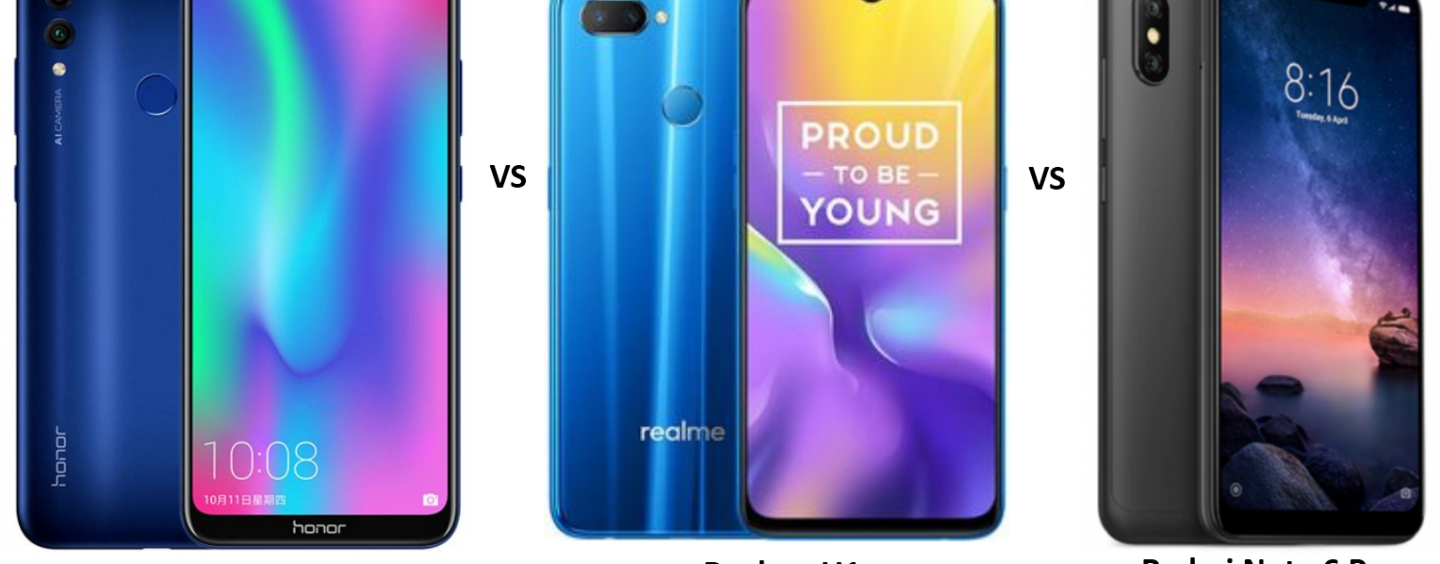 Honor 8C vs Realme U1 vs Redmi Note 6 Pro: Battle of sub-15k Smartphones
