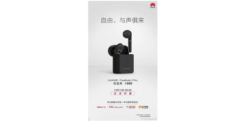 Huawei Freebuds 2 Pro Truly Wireless Earphones With Bone Conduction Launched In China For CNY 999